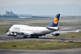 こじゆきさんが、関西国際空港で撮影したルフトハンザドイツ航空 747-430の航空フォト(飛行機 写真・画像)