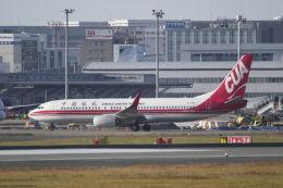 mocohide☆さんが、福岡空港で撮影した中国聯合航空 737-89Pの航空フォト(飛行機 写真・画像)