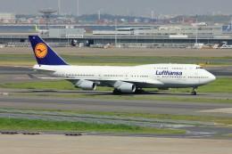 メンチカツさんが、羽田空港で撮影したルフトハンザドイツ航空 747-430の航空フォト(飛行機 写真・画像)