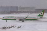 RUNWAY23.TADAさんが、大分空港で撮影したエバー航空 A321-211の航空フォト(飛行機 写真・画像)