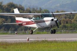 mukku@RJFKさんが、天草飛行場で撮影したエス・ジー・シー佐賀航空 172P Skyhawk IIの航空フォト(飛行機 写真・画像)