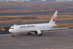 KAZFLYERさんが、羽田空港で撮影した日本航空 767-346/ERの航空フォト(飛行機 写真・画像)