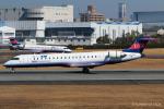 RUNWAY23.TADAさんが、伊丹空港で撮影したアイベックスエアラインズ CL-600-2C10 Regional Jet CRJ-702の航空フォト(飛行機 写真・画像)