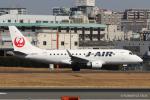 RUNWAY23.TADAさんが、伊丹空港で撮影したジェイ・エア ERJ-170-100 (ERJ-170STD)の航空フォト(飛行機 写真・画像)