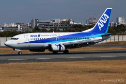 RUNWAY23.TADAさんが、伊丹空港で撮影したANAウイングス 737-54Kの航空フォト(飛行機 写真・画像)
