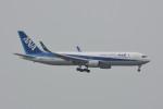 kuro2059さんが、香港国際空港で撮影した全日空 767-381/ERの航空フォト(飛行機 写真・画像)
