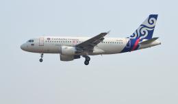 kenko.sさんが、シェムリアップ国際空港で撮影したカンボジア・エアウェイズ A319-112の航空フォト(飛行機 写真・画像)