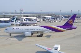 tasho0525さんが、中部国際空港で撮影したタイ国際航空 777-2D7の航空フォト(飛行機 写真・画像)