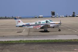 おっつんさんが、新石垣空港で撮影したメッシュ・サポート A36 Bonanza 36の航空フォト(飛行機 写真・画像)