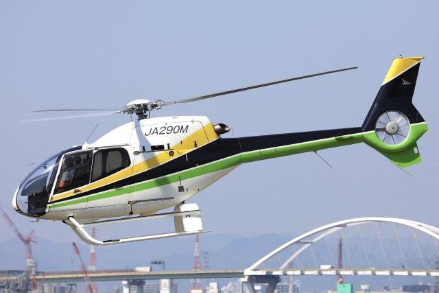 Hii82さんが、大阪ヘリポートで撮影した日本法人所有 EC120B Colibriの航空フォト(飛行機 写真・画像)