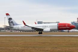 BTYUTAさんが、ヴァーツラフ・ハヴェル・プラハ国際空港で撮影したノルウェー・エアシャトル 737-8JPの航空フォト(飛行機 写真・画像)
