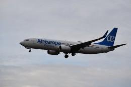 こじゆきさんが、フランクフルト国際空港で撮影したエア・ヨーロッパ・エクスプレス 737-85Pの航空フォト(飛行機 写真・画像)