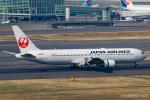 RUNWAY23.TADAさんが、羽田空港で撮影した日本航空 767-346の航空フォト(飛行機 写真・画像)