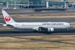 RUNWAY23.TADAさんが、羽田空港で撮影した日本航空 767-346/ERの航空フォト(飛行機 写真・画像)
