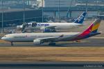 RUNWAY23.TADAさんが、羽田空港で撮影したアシアナ航空 A330-323Xの航空フォト(飛行機 写真・画像)