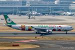 RUNWAY23.TADAさんが、羽田空港で撮影したエバー航空 A330-302Xの航空フォト(飛行機 写真・画像)
