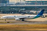 RUNWAY23.TADAさんが、羽田空港で撮影したガルーダ・インドネシア航空 A330-343Eの航空フォト(飛行機 写真・画像)