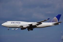chappyさんが、成田国際空港で撮影したユナイテッド航空 747-422の航空フォト(飛行機 写真・画像)