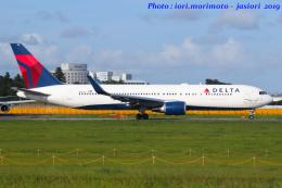 いおりさんが、成田国際空港で撮影したデルタ航空 767-332/ERの航空フォト(飛行機 写真・画像)