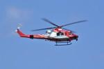 kumagorouさんが、仙台空港で撮影した仙台市消防航空隊 412EPの航空フォト(飛行機 写真・画像)