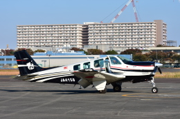 RyuRyu1212さんが、立川飛行場で撮影したタンゴ・エア・サポート A36 Bonanza 36の航空フォト(飛行機 写真・画像)
