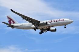 こじゆきさんが、スワンナプーム国際空港で撮影したカタール航空 A330-202の航空フォト(飛行機 写真・画像)