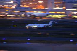 乙事さんが、羽田空港で撮影した海上保安庁 G-V Gulfstream Vの航空フォト(飛行機 写真・画像)