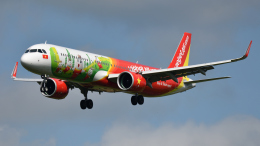 saoya_saodakeさんが、成田国際空港で撮影したベトジェットエア A321-271Nの航空フォト(飛行機 写真・画像)