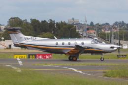 mameshibaさんが、シドニー国際空港で撮影したAgile Aviation pty ltd PC-12/47Eの航空フォト(飛行機 写真・画像)