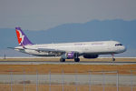 ちゃぽんさんが、関西国際空港で撮影したマカオ航空 A320-232の航空フォト(飛行機 写真・画像)