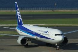 Hiro-hiroさんが、羽田空港で撮影した全日空 767-381/ERの航空フォト(飛行機 写真・画像)