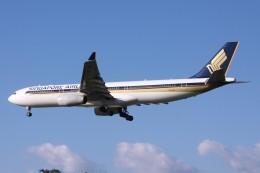 Mr.boneさんが、福岡空港で撮影したシンガポール航空 A330-343Xの航空フォト(飛行機 写真・画像)