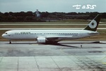 tassさんが、シンガポール・チャンギ国際空港で撮影したエバー航空 767-3S1/ERの航空フォト(飛行機 写真・画像)