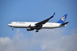 こじゆきさんが、スワンナプーム国際空港で撮影したエア・アスタナ 767-3KY/ERの航空フォト(飛行機 写真・画像)