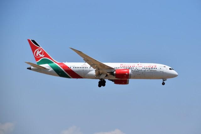 2019年04月28日に撮影されたケニア航空の航空機写真