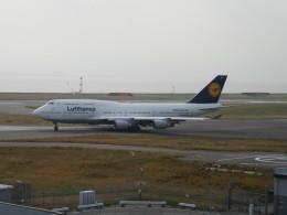 LOVE767さんが、関西国際空港で撮影したルフトハンザドイツ航空 747-430の航空フォト(飛行機 写真・画像)