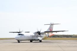 なないろさんが、種子島空港で撮影した日本エアコミューター ATR-42-600の航空フォト(飛行機 写真・画像)