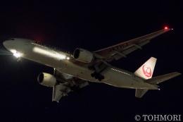 遠森一郎さんが、福岡空港で撮影した日本航空 777-246/ERの航空フォト(飛行機 写真・画像)