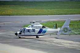 Gambardierさんが、岡山空港で撮影したソニートレーディングインターナショナル AS365N2 Dauphin 2の航空フォト(飛行機 写真・画像)