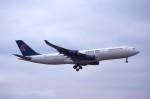 kumagorouさんが、成田国際空港で撮影したエジプト航空 A340-212の航空フォト(飛行機 写真・画像)