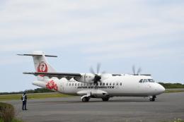 なないろさんが、屋久島空港で撮影した日本エアコミューター ATR 42-600の航空フォト(飛行機 写真・画像)