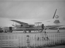 Zakiyamaさんが、熊本空港で撮影した全日空 F27-241 Friendshipの航空フォト(飛行機 写真・画像)