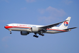 ちゃぽんさんが、成田国際空港で撮影した中国貨運航空 777-F6Nの航空フォト(飛行機 写真・画像)