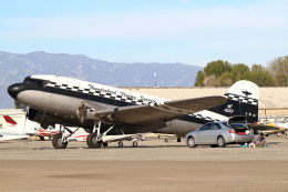 A-Chanさんが、チノ空港で撮影したThunderbird Flying Service DC-3の航空フォト(飛行機 写真・画像)