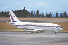 臨時特急7032Mさんが、鹿児島空港で撮影したチャイナエアライン 737-209/Advの航空フォト(飛行機 写真・画像)