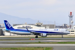 aki241012さんが、福岡空港で撮影した全日空 A321-211の航空フォト(飛行機 写真・画像)