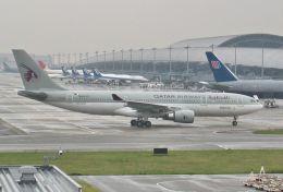 wunalaさんが、関西国際空港で撮影したカタール航空 A330-202の航空フォト(飛行機 写真・画像)
