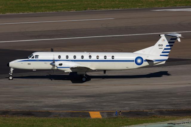 (新)ふぁんとむ改さんが、台北松山空港で撮影した中華民国空軍 1900C-1の航空フォト(飛行機 写真・画像)