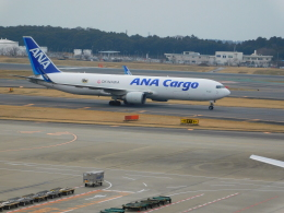 けいほんさんが、成田国際空港で撮影した全日空 767-316F/ERの航空フォト(飛行機 写真・画像)