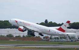 ☆ゆっきー☆さんが、成田国際空港で撮影したオーストリア航空 777-2B8/ERの航空フォト(飛行機 写真・画像)